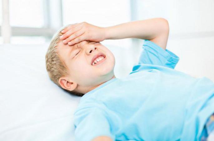 у детей внутричерепная гипертензия