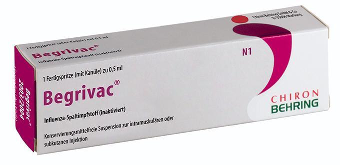 вакцина Begrivac
