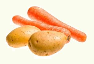 Картофель, морковь