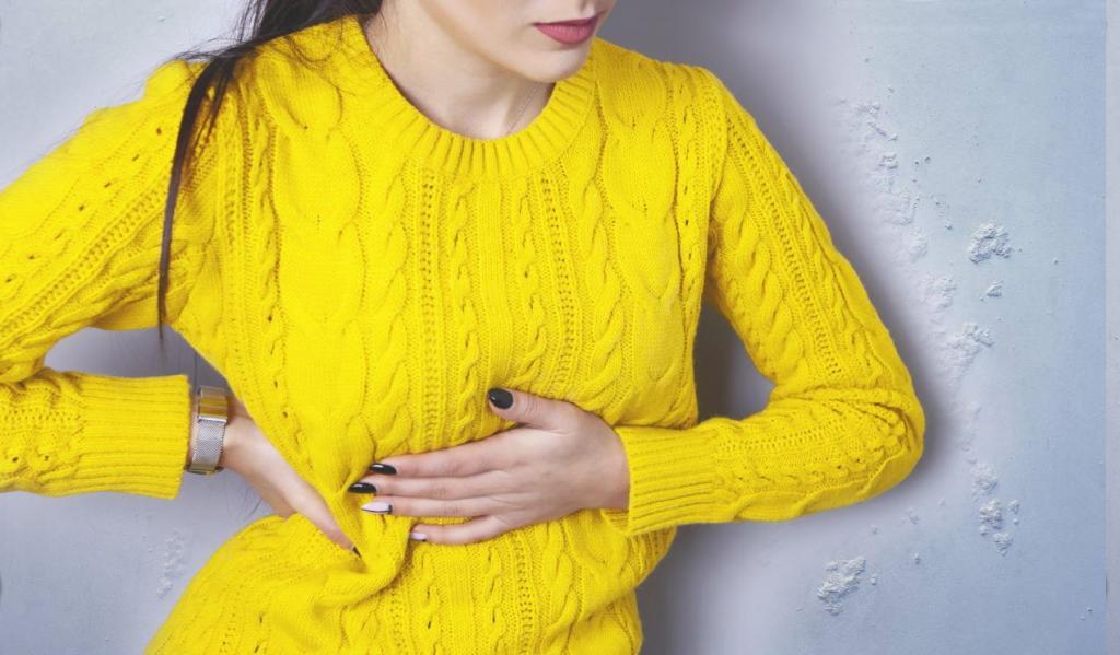 В желтом свитере