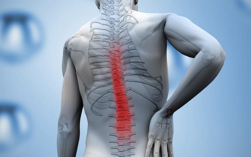 Ушиб спины