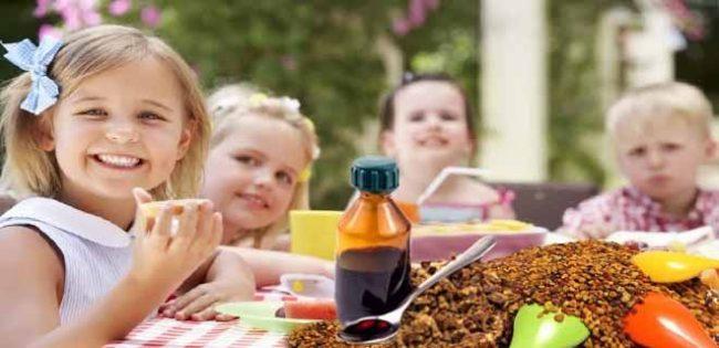 настойка прополиса для детей