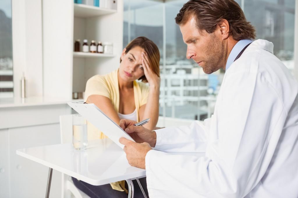 пациентка и доктор