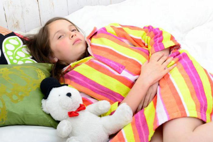 симптомы гастрита у детей школьного возраста