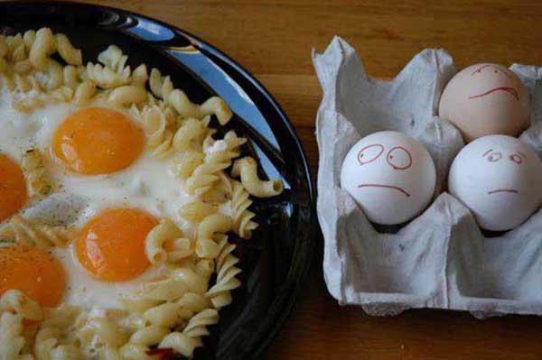 вареные яйца при гастрите