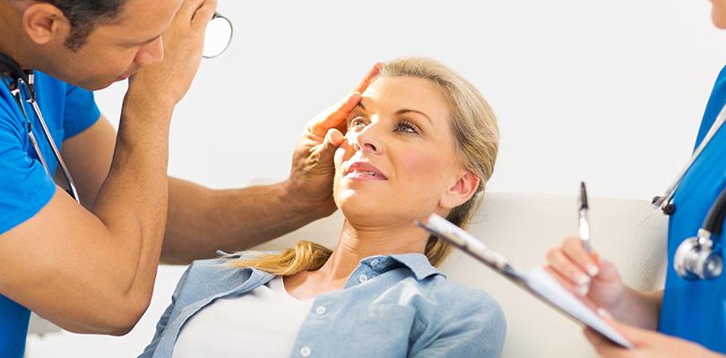действия при попадании в глаз инородного тела