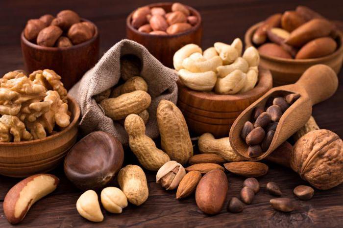 орехи при эрозивном гастрите