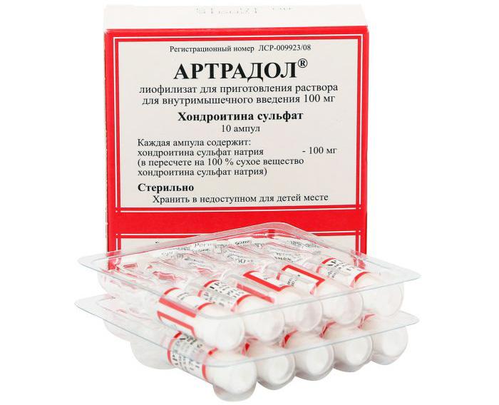 Инъекционный препарат Артрадол
