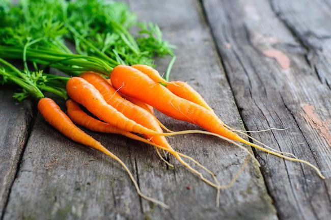 морковь витамины