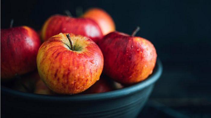 При диабете яблоки