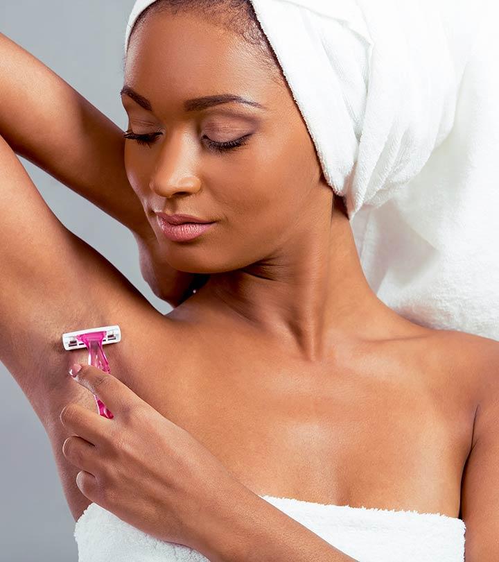 Воспаление подмышками после бритья