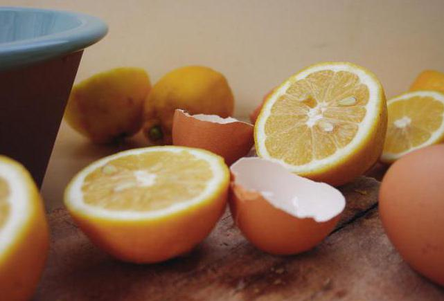 лимон с яйцом при сахарном диабете рецепты