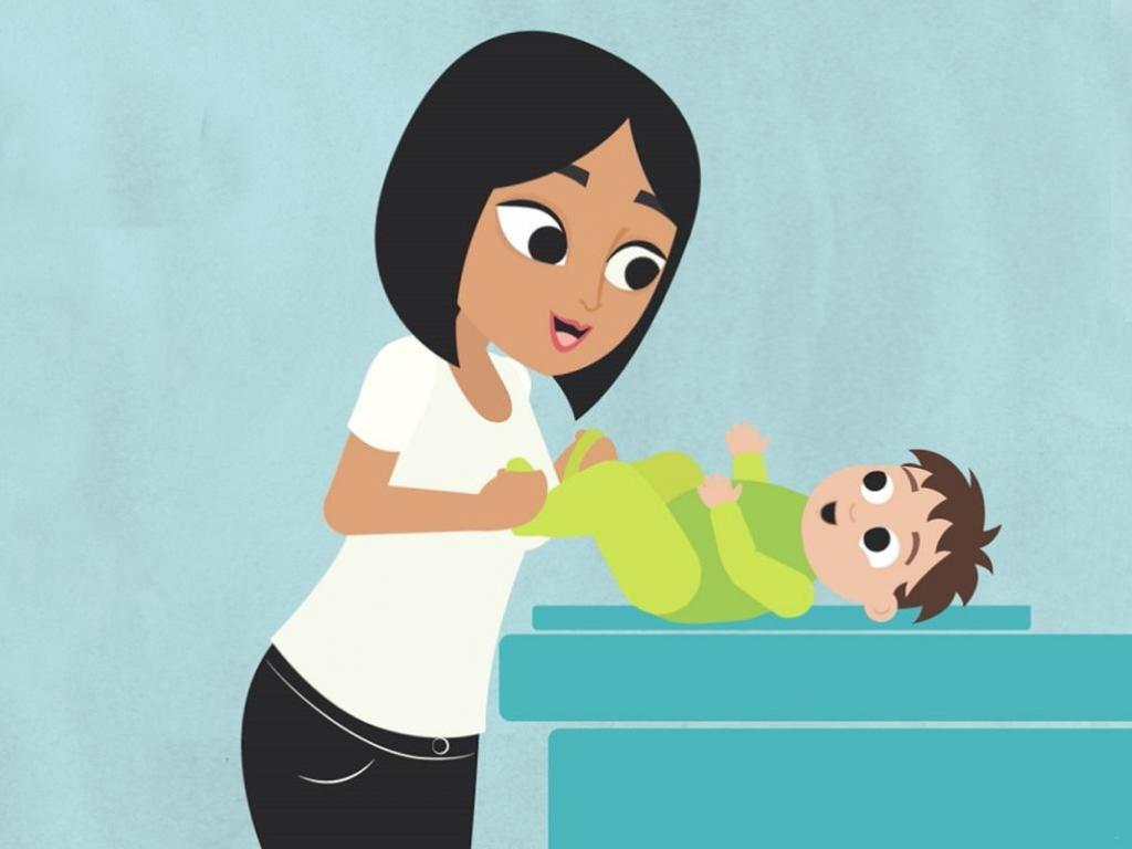 Гимнастика малышу для профилактики запоров