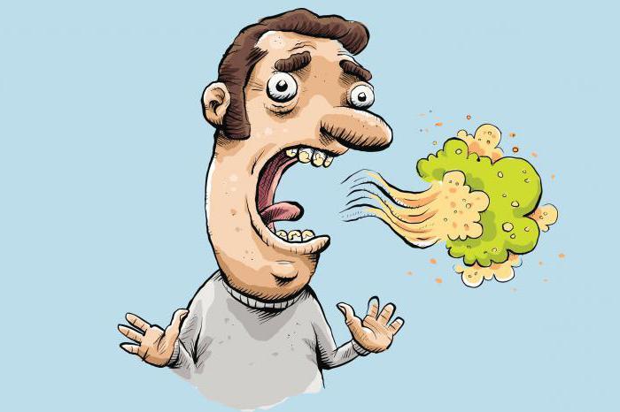 запах изо рта при гастрите