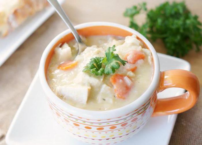 какие можно супы при гастрите