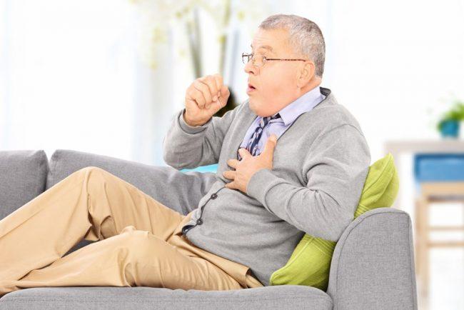 кашель и учащенное сердцебиение