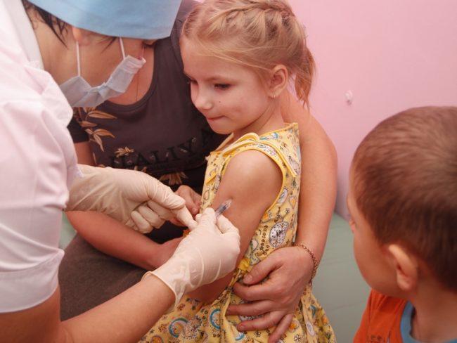 прививка детям для профилактики от гриппа