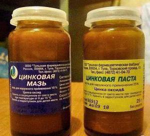 цинковая мазь при атопическом дерматите
