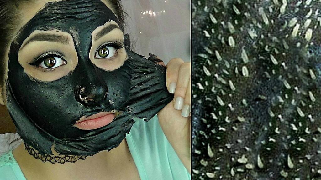 черная маска от прыщей в домашних условиях