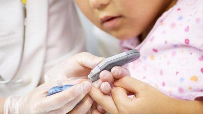 сахарный диабет у ребенка симптомы