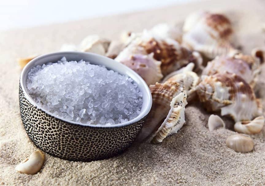 Морская соль для ванны.