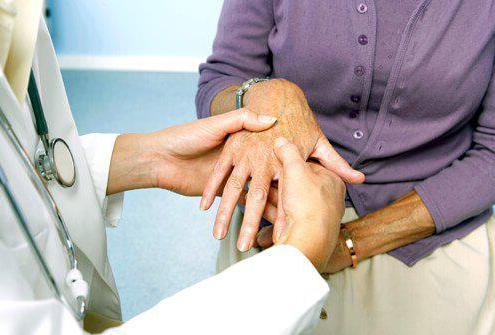 артрит запястья симптомы и лечение