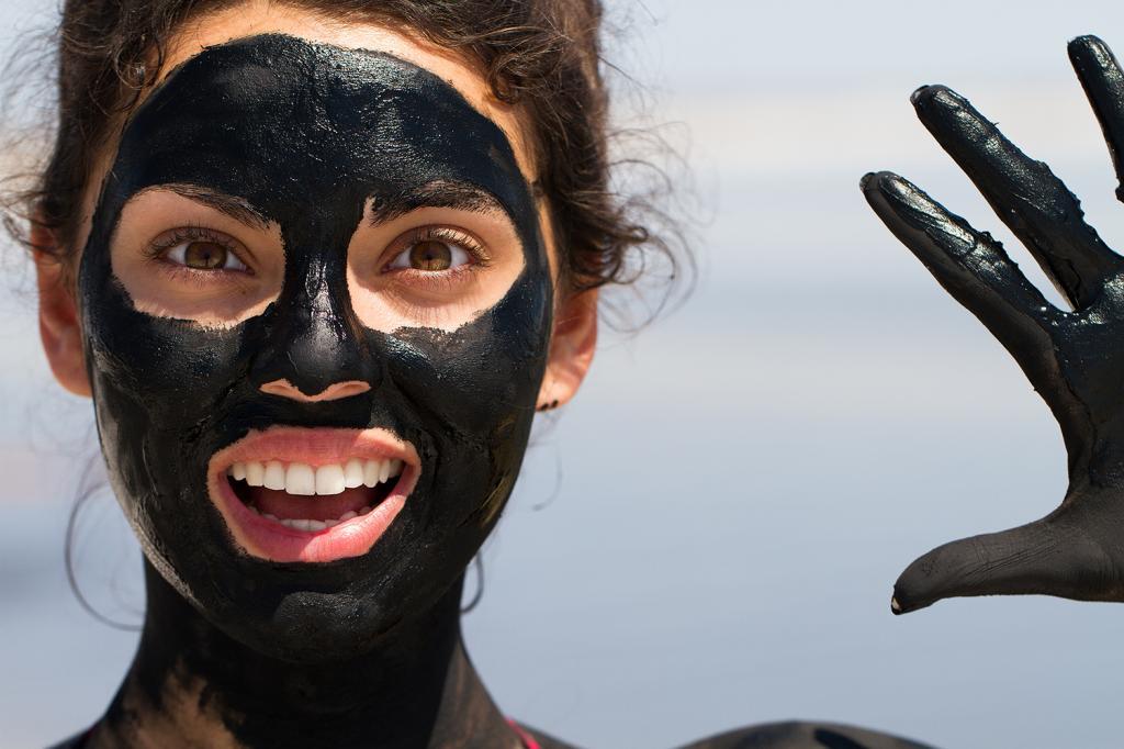 черная маска от черных точек как сделать дома