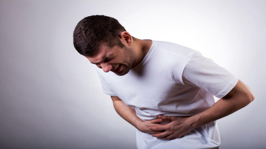 как болит язва желудка