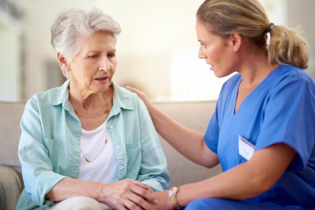 Больная Альцгеймером