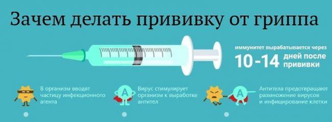 за и против вакцинации от простудных заболеваний