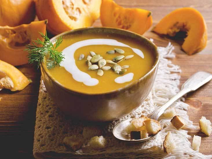 суп-пюре из овощей