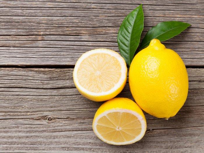Лимон для высветления волос