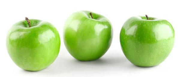 можно ли при гастрите яблоки