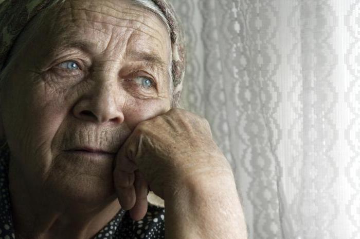 симптомы депрессии в пожилом возрасте