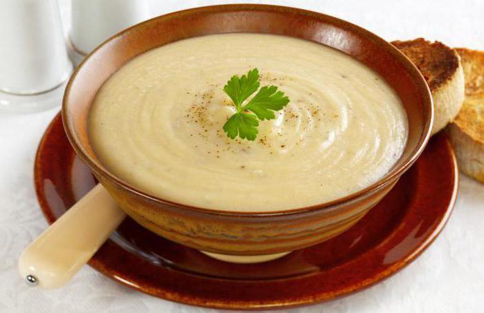 супы при гастрите рецепты