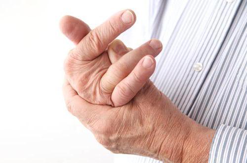 мазь при диагностировании артрита фаланг руки