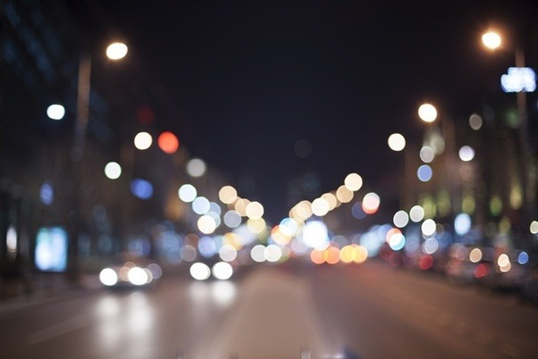 Ночной город глазами близорукого