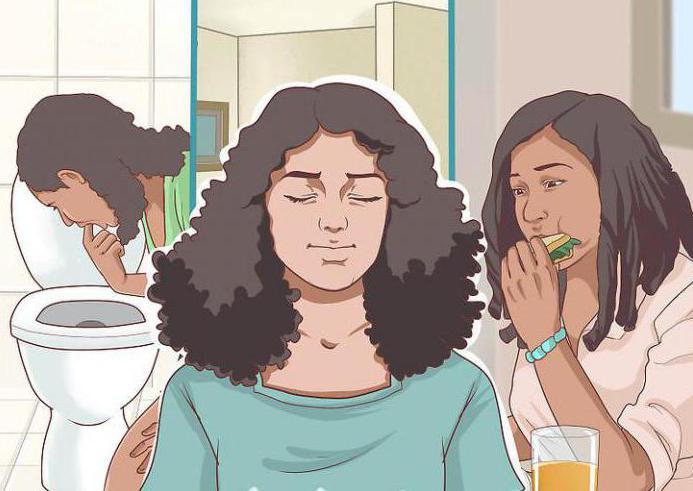 как заболевают булимией